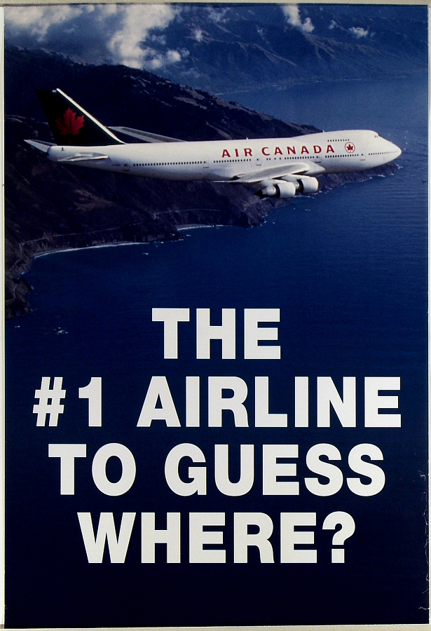 Air Canada The #1 Airline to Guess Where?