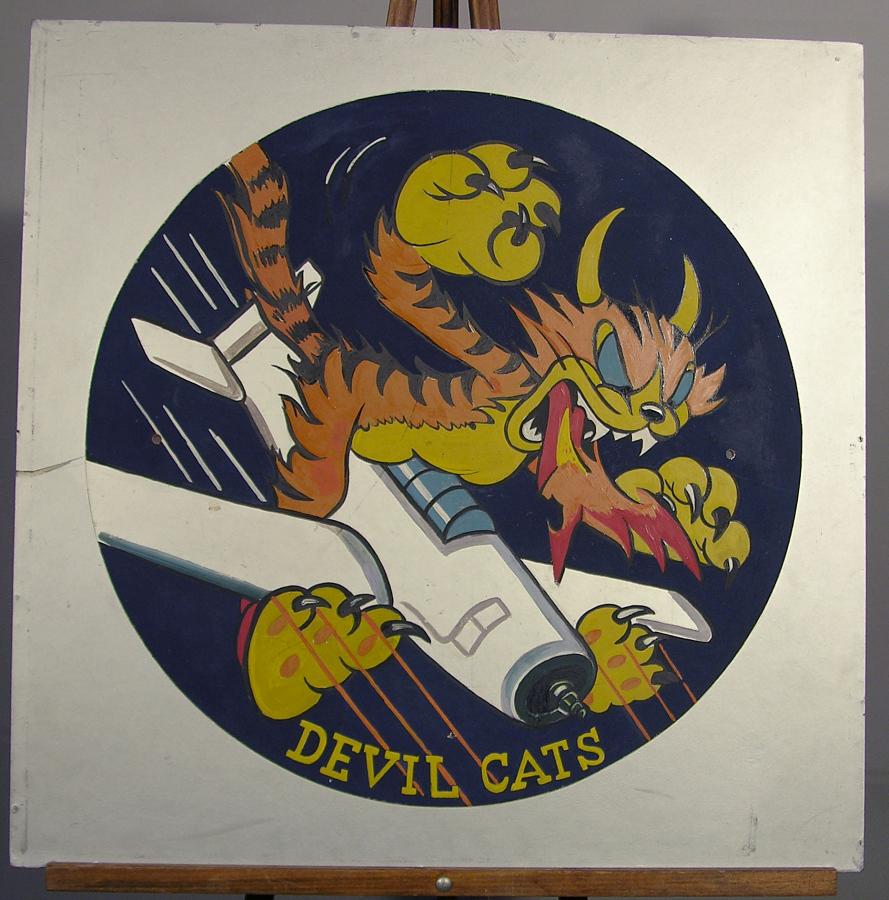 Insignia, VF-50 Devil Cats, United States Navy
