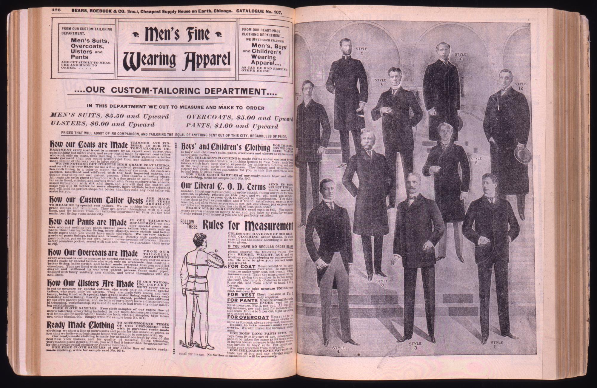 Sears Catalog, 1897