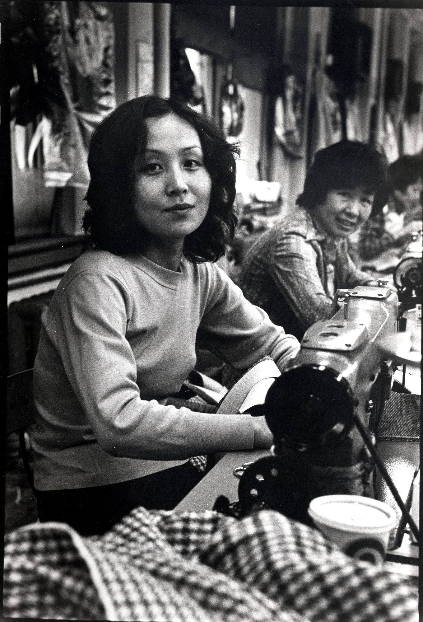 Chinese garment workers, Chinatown, New York City, about 1983