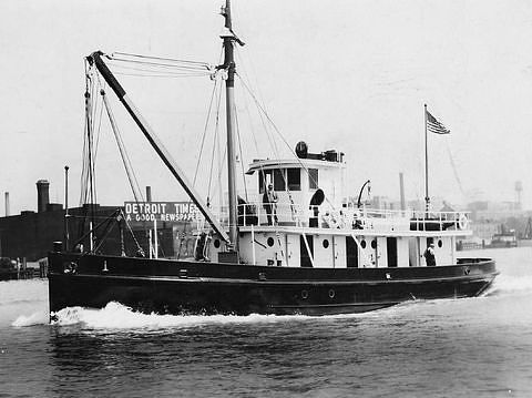 USLHS tender Cherry, built 1932
