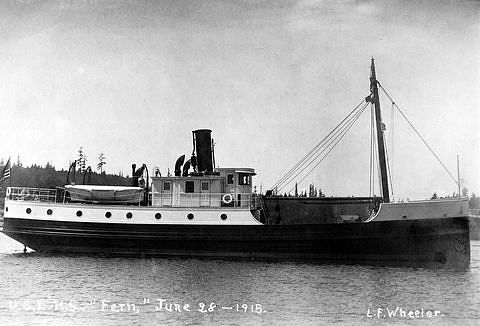 USLHS tender Fern, built 1915