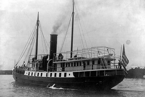 USLHS tender Anemone, built 1908