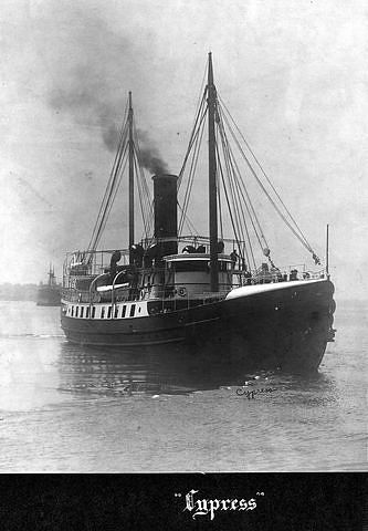 USLHS tender Cypress, built 1908