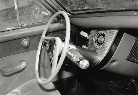 1948 Tucker sedan with safety interior