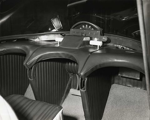 Cornell-Liberty Survival Car interior