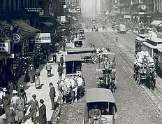 State Street, Chicago, Illinois, early 1900s