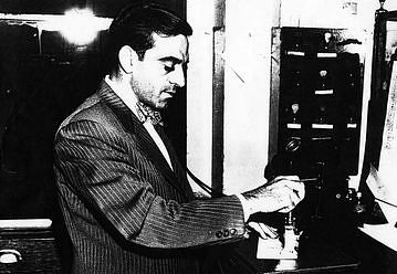 John Caprino, Cook County Clerk, Recording CTA Purchase of Surface and Rail Transit Lines on September 30th, 1947.