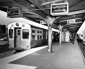 CTA's Western Avenue Transit Station, 1958