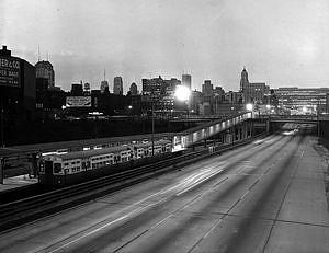 CTA's Halsted Street Transit Station, 1958