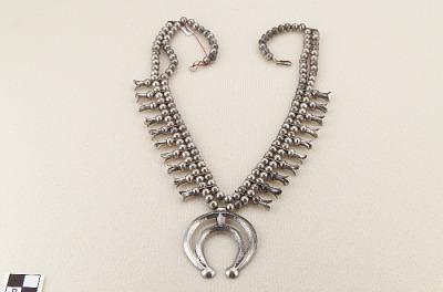 Squash-blossom necklace