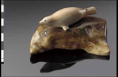 Seal sculpture