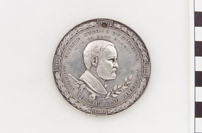 Ulysses S. Grant peace medal, 1871