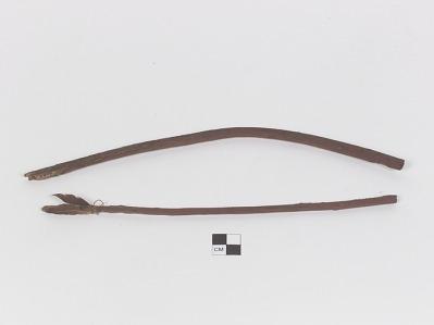 Bow and arrow model/miniature