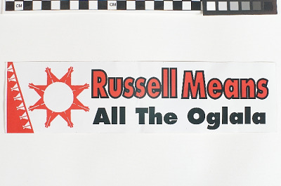 Russell Means, All the Oglala