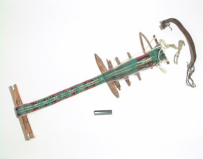 Loom, unfinished weaving, and weaving tools