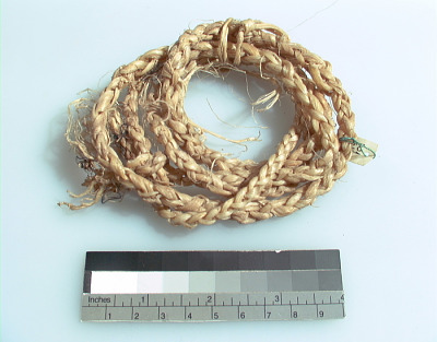 Hide dressing rope