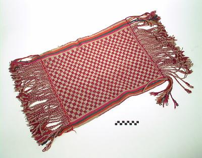 Saddle blanket