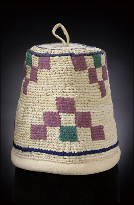 Woman's basket hat