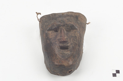 Mask used in the dance of San Miguel