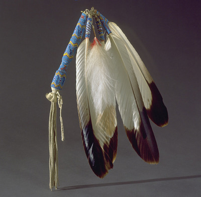 Fan used in Native American Church rituals