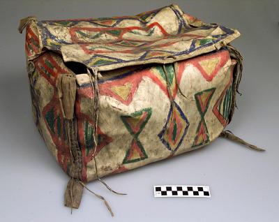 Parfleche trunk