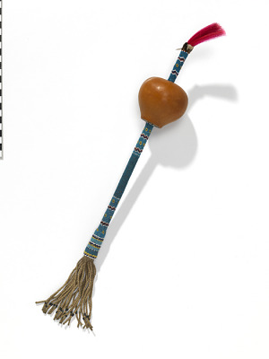 Rattle for peyote rituals