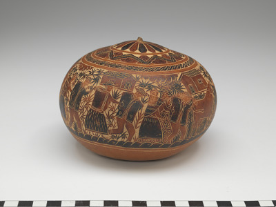 Vessel with cover