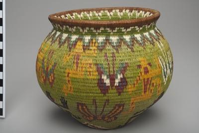 Basket jar