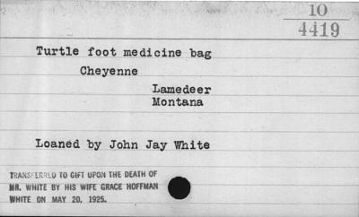 Medicine bag