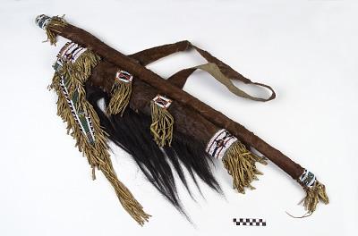 Bow, bowcase, quiver, and arrows