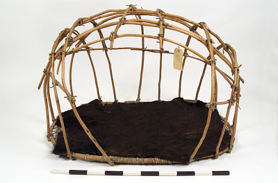Horse travois basket/frame