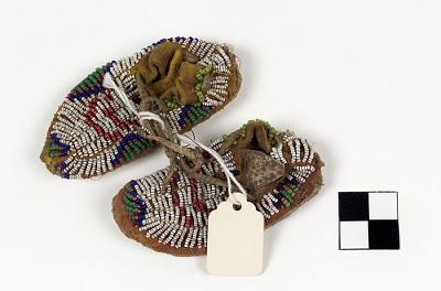 Miniature moccasins