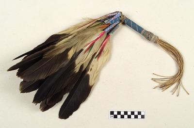Fan for peyote rituals