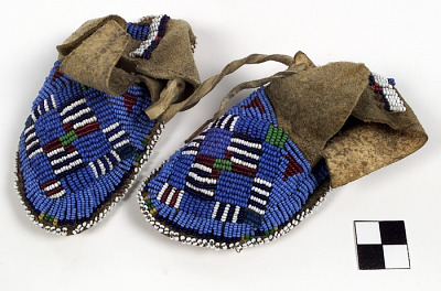 Baby's moccasins