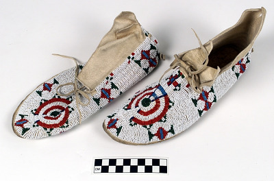 Woman's moccasins