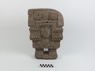 Sculpture of Chicomecóatl (the Corn Goddess)