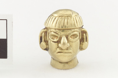 Pendant in the form of a man's head