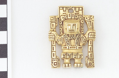 Pendant in human form