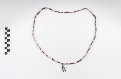 Wampum beads made for trade or sale to Indians