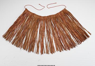 Fringe or skirt for Hamsaml (Hamatsa) mask