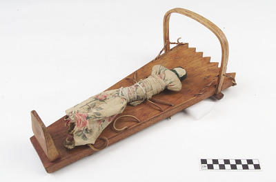 Doll with cradle/cradleboard