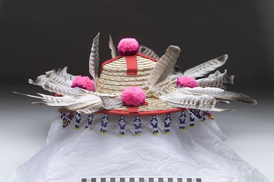 Shaman's basket hat