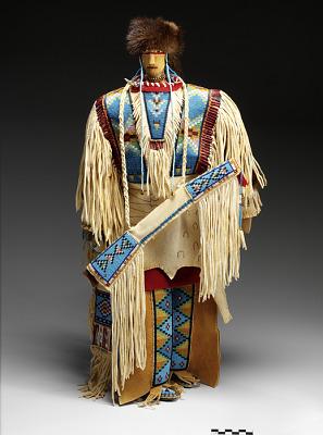 Assiniboin Chief Doll