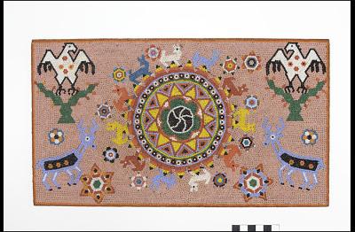 Bead mosaic