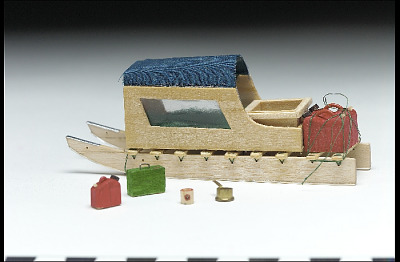 Sled model and accessories