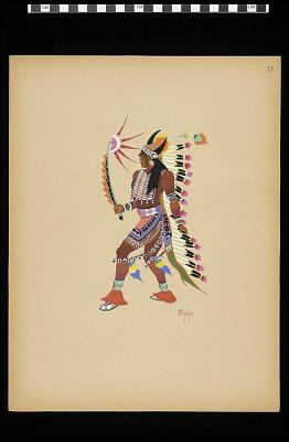 War Dance (Plate 23)