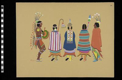 Squaw Dance (Plate 24)
