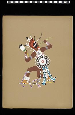 War Dancer (Plate 7)