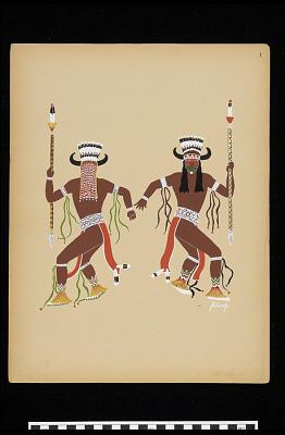 Buffalo Dancers (Plate 1)